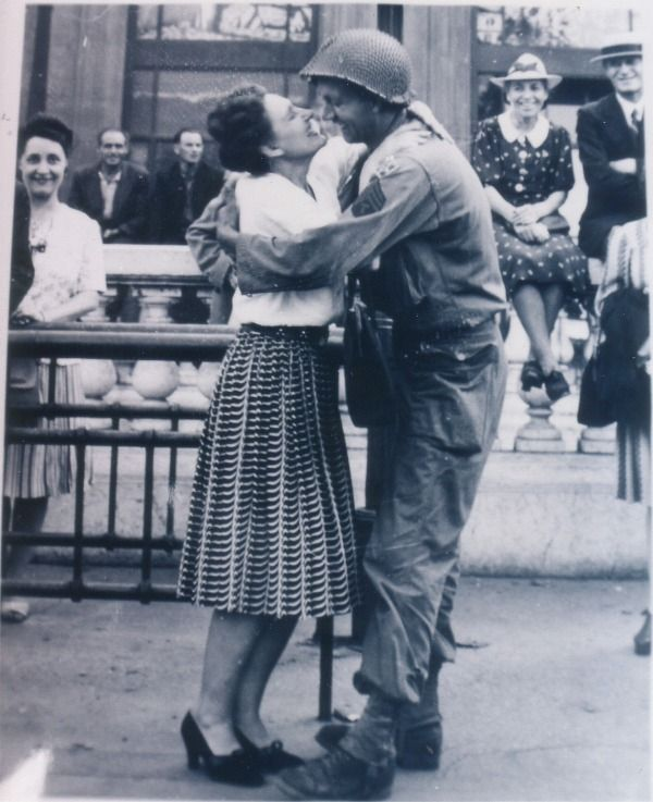 Liberation of Paris. August 1944