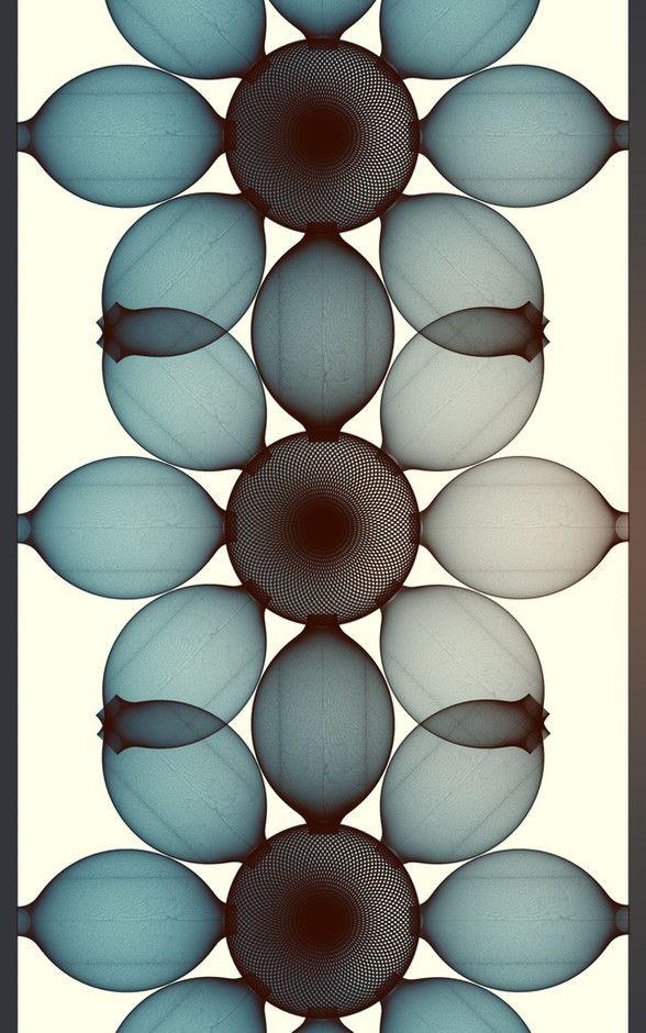 Cristian Boian : wall forms, digital art