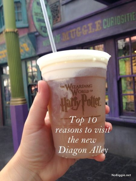 Top 10 things to see in the new Diagon Alley | NoBiggie.net