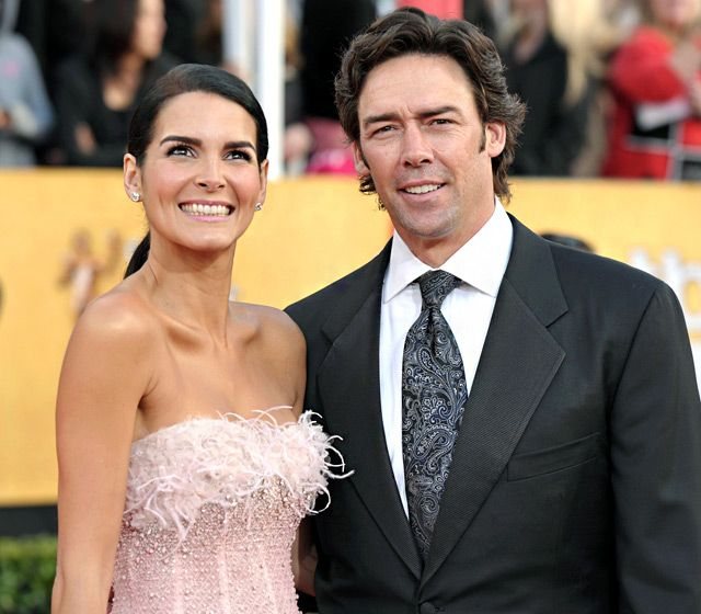 Angie Harmon and Jason Sehorn   2013
