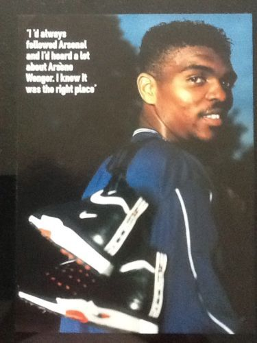A4 #football #picture/poster nwankwo #kanu, arsenal (1999),  View more on the…