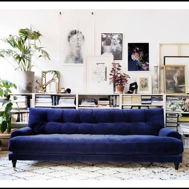 Hoy en el blog, sofás en color