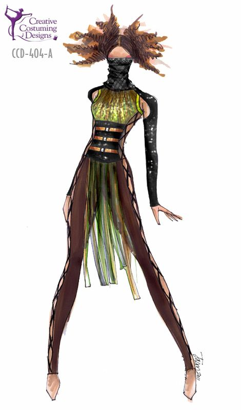 Creative Costuming & Designs: I saw this costume in motion my Freshman year at PPAACC:) PERFECT for the show!