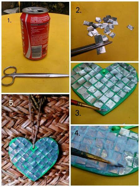 248 best images about reciclado de materiales on pinterest - Manualidades faciles con latas ...