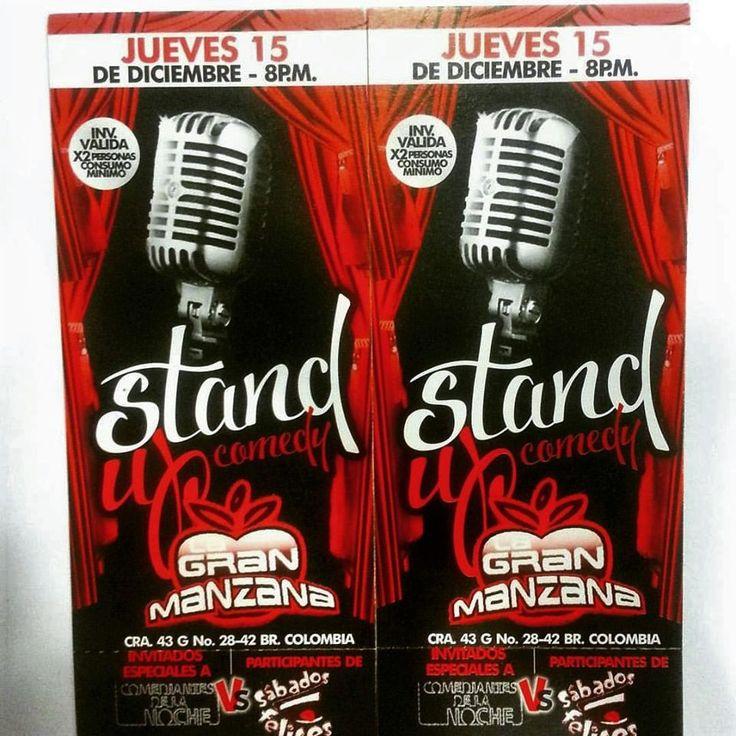 """PROMOCIÓN... Con la compra de $100.000 en adelante o por tus compras vistuales por una de nuestras Redes Sociales (@GoGlobalOption) reclama tu boleto para asistir a """"Stand Up Comedy"""" ven y VISITANOS! Nos encontramos ubicados en el C.C. SantaFe Local:4144 Tel:3214962 WhatsAap: 3103868555 -C.C. Monterrey Local:135 Tel:2688792 WhatsAap:3044904445 -Facebook: """"Encuentralo Todo"""" Twitter- SnapChat - Tumblr-Pinteres: @GoGlobalOption #GoGlobalOption #Aventura #GlobalOption #RedesSociales"""