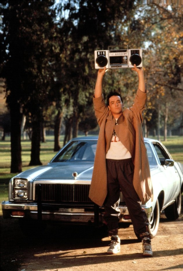 I had the biggest crush on John Cusack back in the day. When I found the scene locations in the movie, I loved the movie even more. 1989 - Say Anything