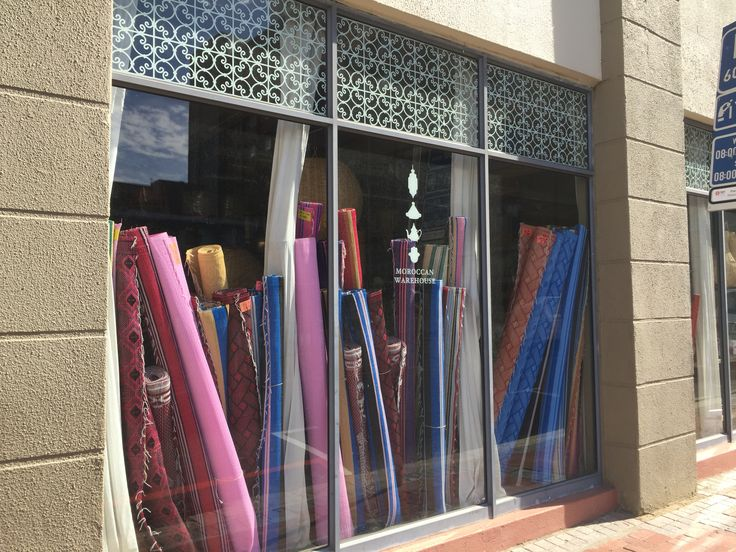 #capetown #citycentre Roeland Str Cape Town Moroccan fabric dealer