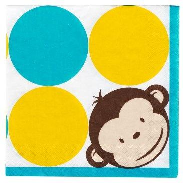 mod monkey napkins