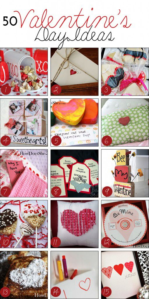 50 Valentine Gifts ideas