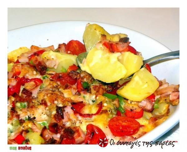 Πατάτες στον φούρνο αλλιώς....!! #sintagespareas