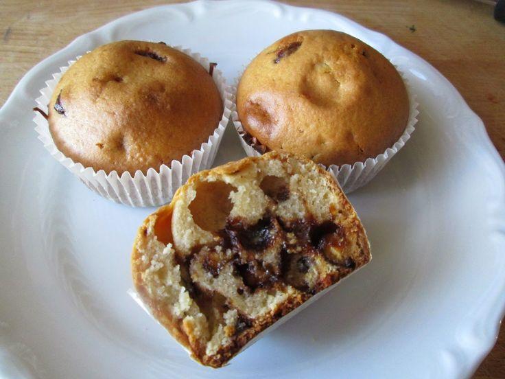Muffinki z drażami kokosowymi