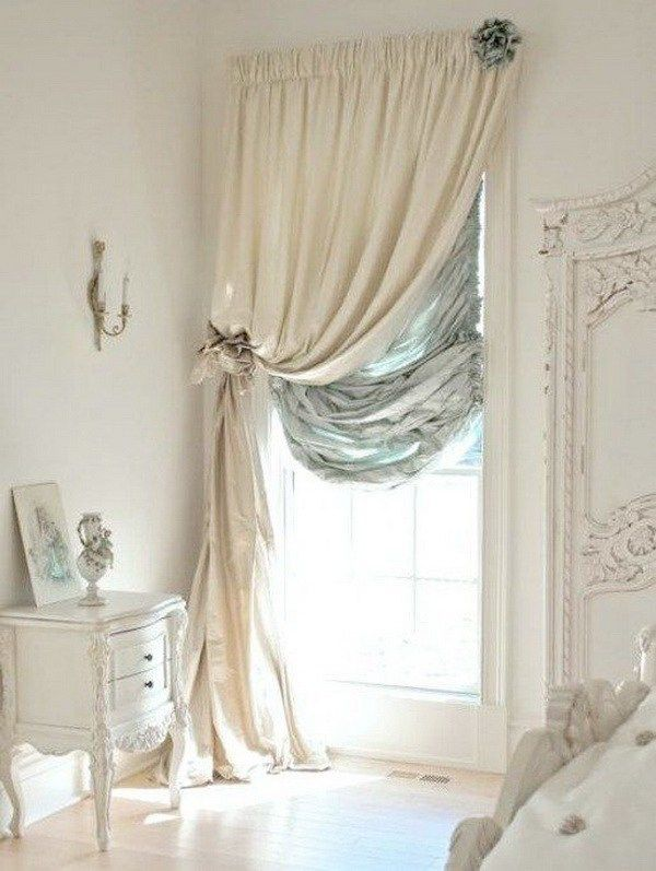 Shabby Chic Bathroom Curtain Ideas : Best ideas about shabby chic curtains on