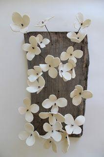 C'est trop beau ton truc: Fleurs porcelaine