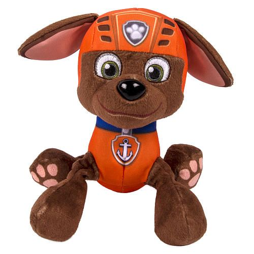 "Nickelodeon, Paw Patrol - Plush Pup Pals- Zuma - Spin Master - Toys ""R"" Us"
