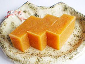 寒天レシピ|デザート|柿ようかん