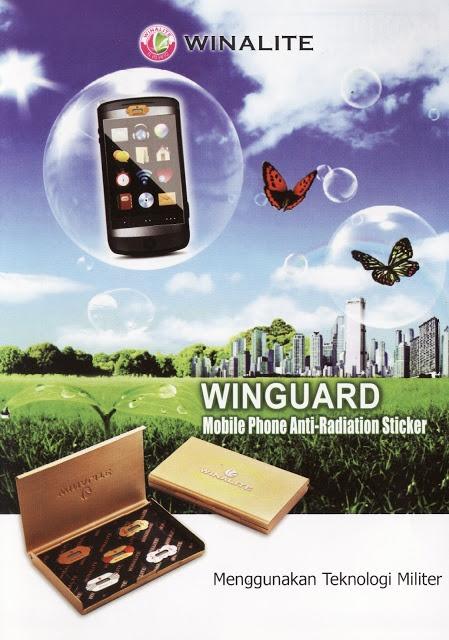 WINGUARD - Stiker Anti Radiasi Telepon Selular. http://winguardsticker.blogspot.com/