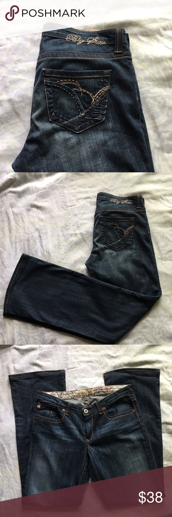 🔥Big Star Maddie jeans 32x 34 🔥Big Star Maddie jeans 32x 34 Big Star Jeans Boyfriend