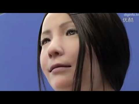 The first video I saw of the female robot, I thought for sure it was a real person pretending to be a robot. They're that realistic!