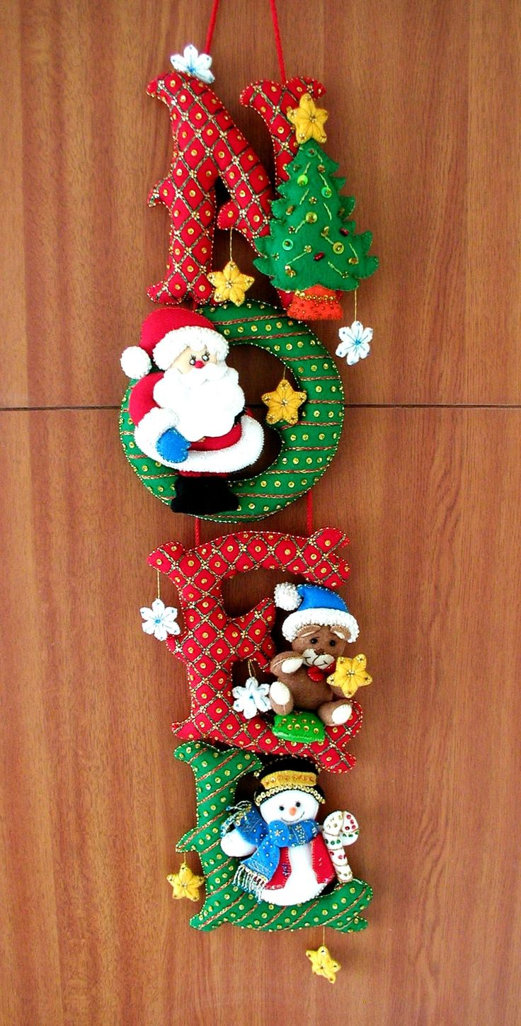 Bordados Oma - Pendon Noel