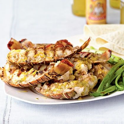 13 Recipes Inspired By Baja California | Baja-Style Grilled Rock Lobster Tails | @myrecipes | http://saltandwind.com