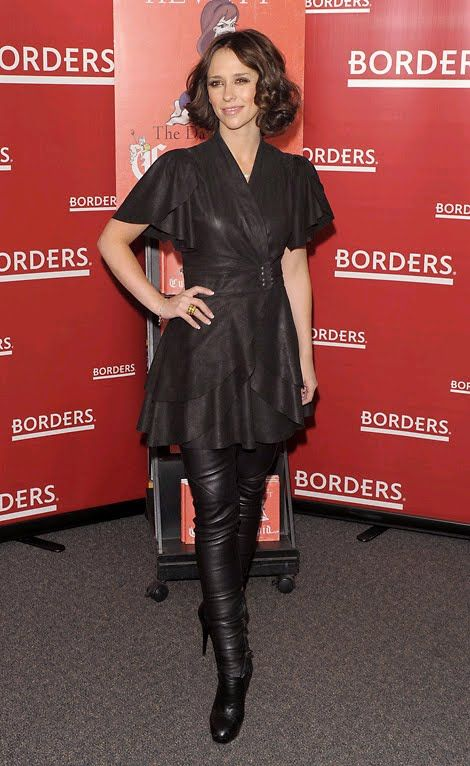 Jennifer Love Hewitt Leather Clothing Jennifer Love