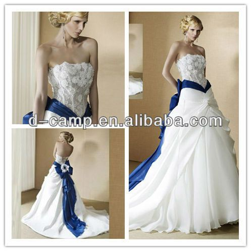 17 Best ideas about Royal Blue Wedding Dresses on Pinterest ...