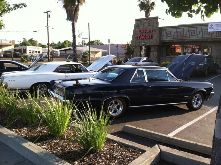 Some Nor Cal GTO Club Cars at the Carmichael Jimboy's Tacos Family Fun Night - May 28th, 2014