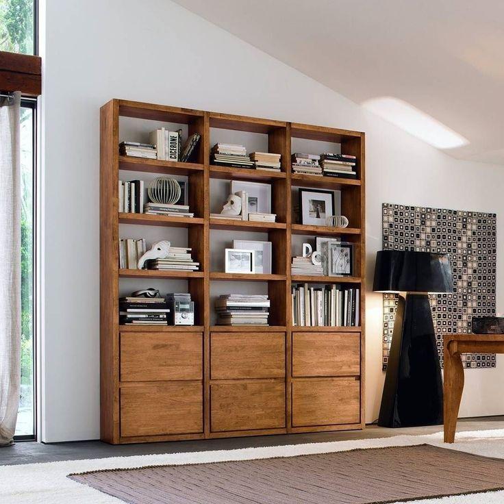 Das Bücherregal KS16 von FGF Mobili in Holz aus Italien. #regal # ...