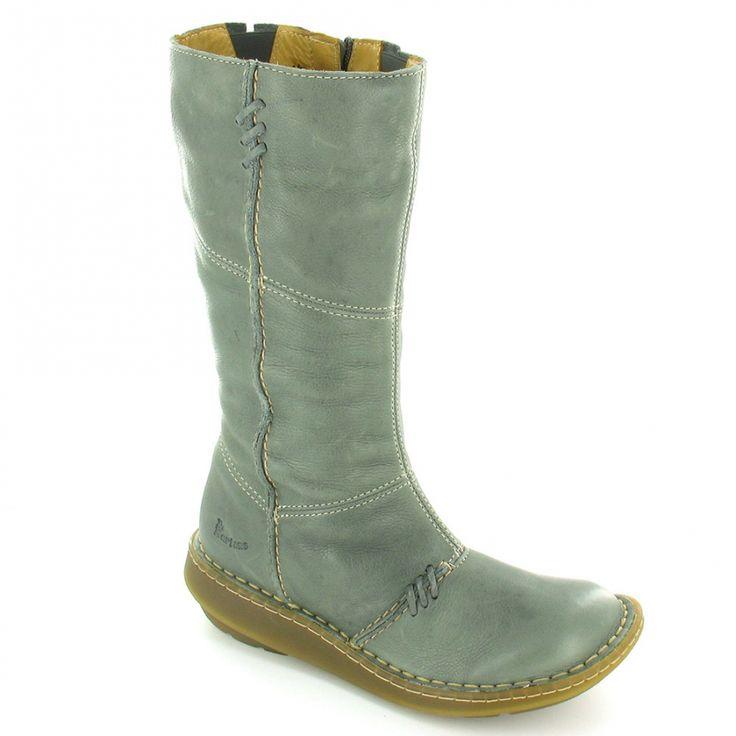 Dr marten grey mid calf wedge boots