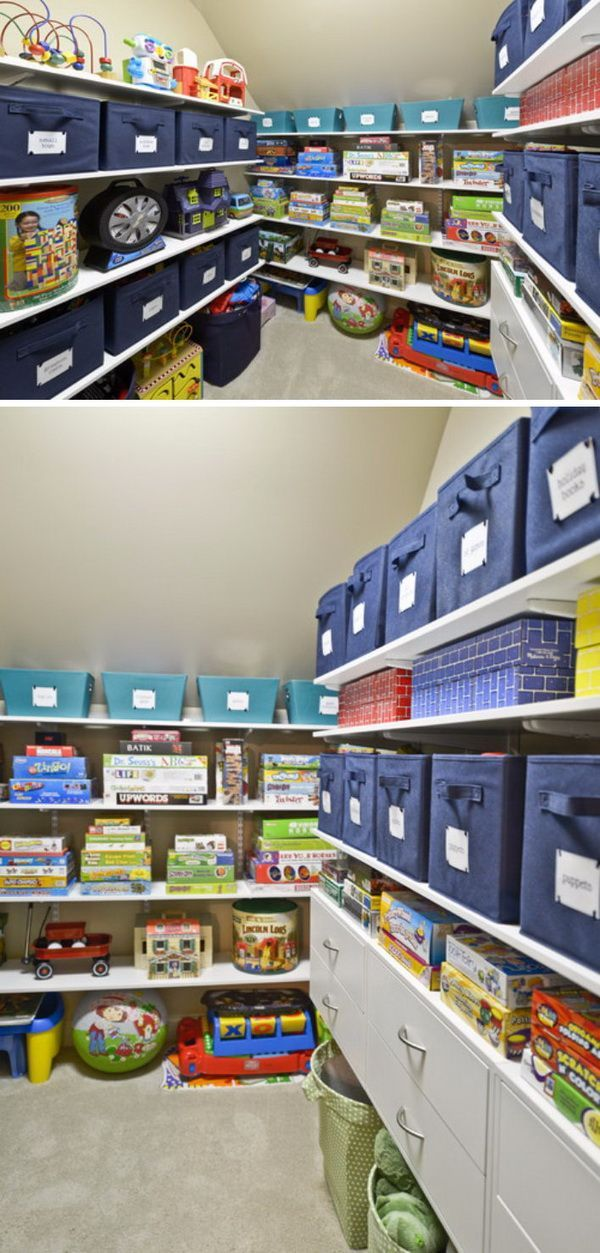 20 Clever Storage Ideas For Your Attic 2017 20 Clever Storage Ideas For Your Attic 2017 In 2020 Attic Storage Shelves Clever Storage Attic Storage