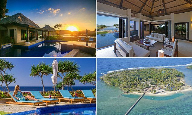 Fijian villas worths $6.3m to be won