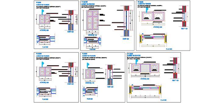 Dwg Adı : Isı yalıtımlı alüminyum pencere detayları  İndirme Linki : http://www.dwgindir.com/puanli/puanli-2-boyutlu-dwgler/puanli-detaylar/isi-yalitimli-aluminyum-pencere-detaylari.html