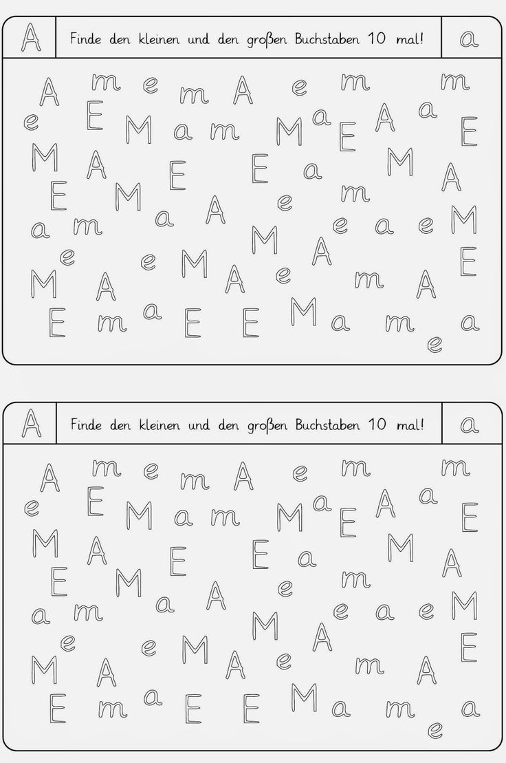 Buchstaben Finden