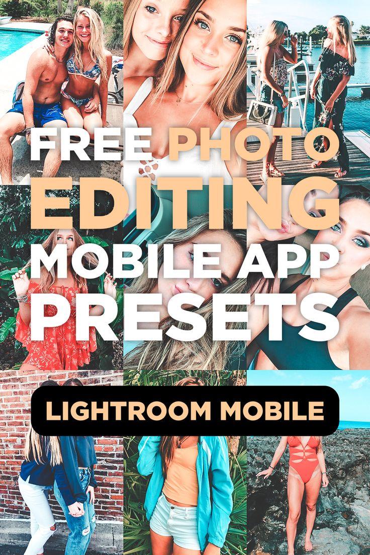 7 Mobile Lightroom Presets Bondi Instagram selfie