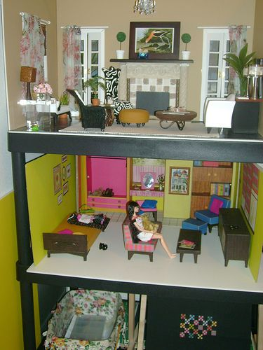 Barbie Bedroom In A Box: 1000+ Images About Barbie Houses On Pinterest