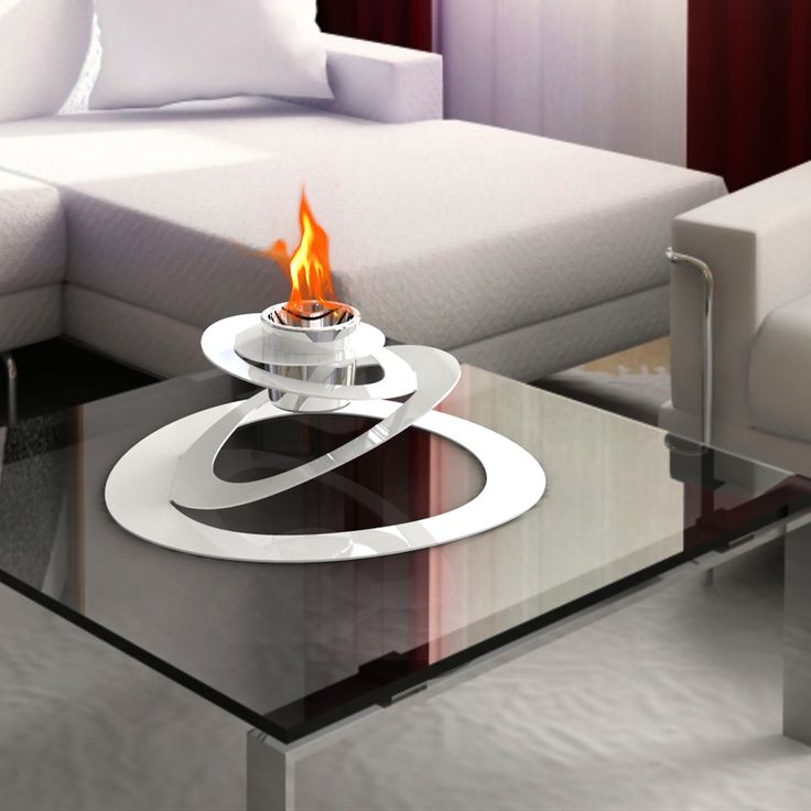 High Quality Ovia Steel Bio Ethanol Tabletop Fireplace