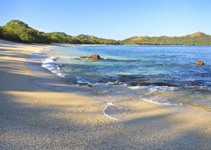 A beach full of shells at Playa Conchal, Costa Rica