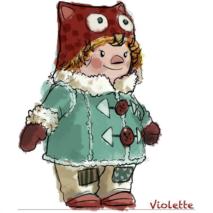 Voici Violette, le nouveau personnage Mini-Tuque de La Guerre des Tuques 3D.