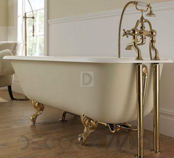 #bathroom #bath #shower #showerroom #interior #design #interiordesign  Чугунная ванна Imperial Bathroom IB Cast Iron Bath Tubs, ib_waldorf_single_ended_bath изображение