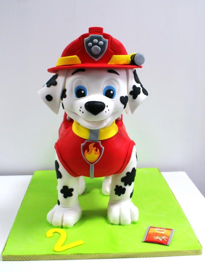 Cake 3D Marshall Paw Patrol - cake by Dagmara  402b688f7c8d