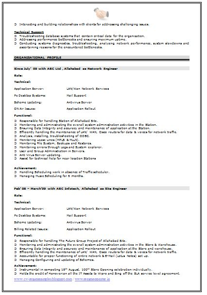 Network Engineer Resume Format (2)