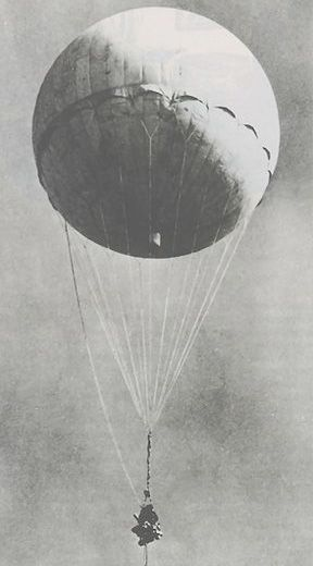 """In 1945 a Japanese """"Balloon Bomb"""" Exploded in Oregon, Killing Six. Only place on the American continent where death resulted from enemy action during WWII."""