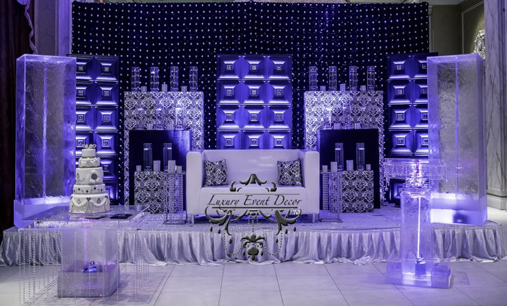 Luxury Events Decor - Used this time 3D Leather Tiles by Talissa Decor  #LT11 Black  http://www.talissadecor.com/catalog/pu-leather-tiles