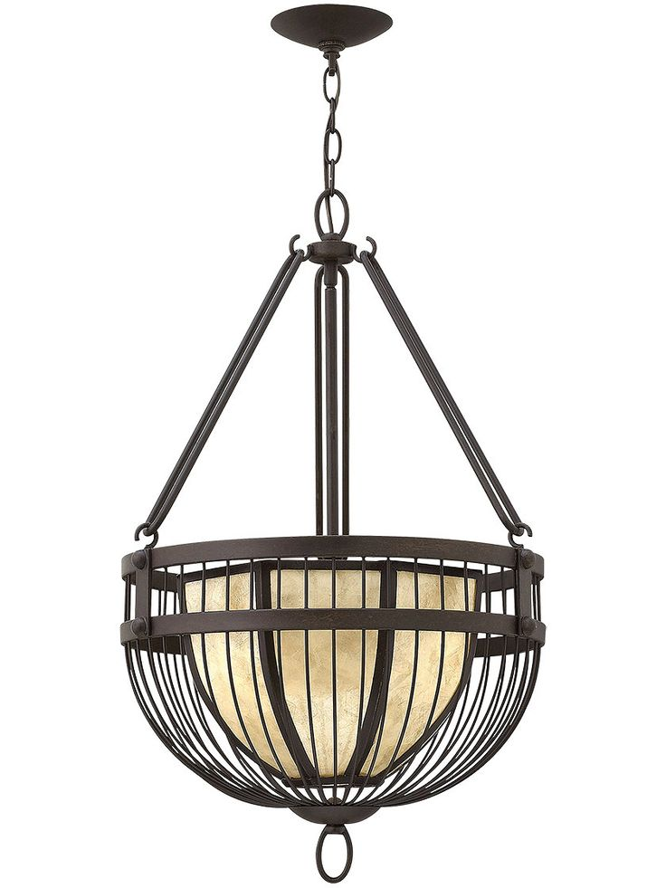 Pendant Light Hanging Hardware : Ava bowl pendant chandelier in vintage bronze living