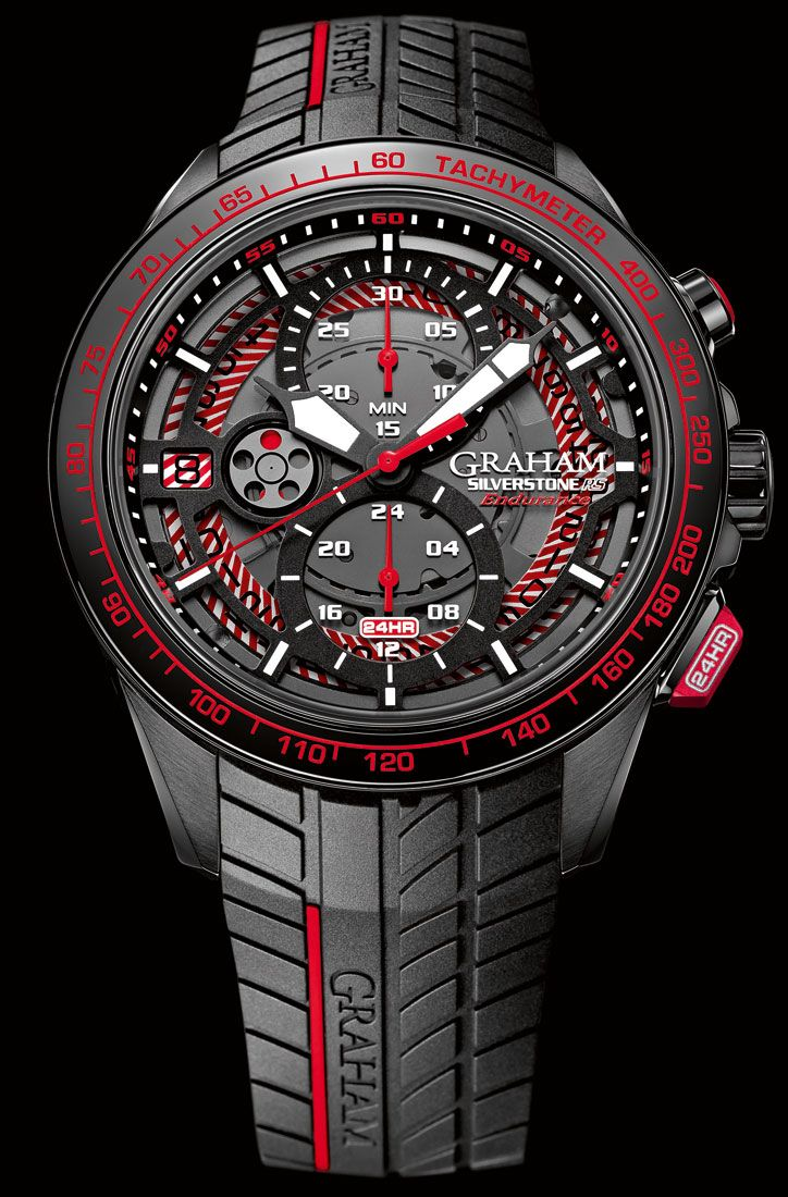 Graham - Silverstone RS Endurance 24HR. New generation of Silverstone chronographs.