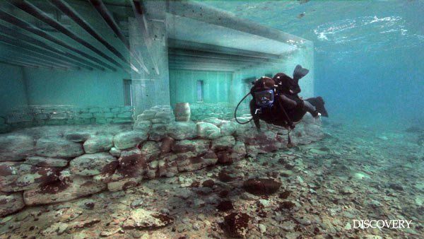 Pavlopetri the oldest submerged town in the world