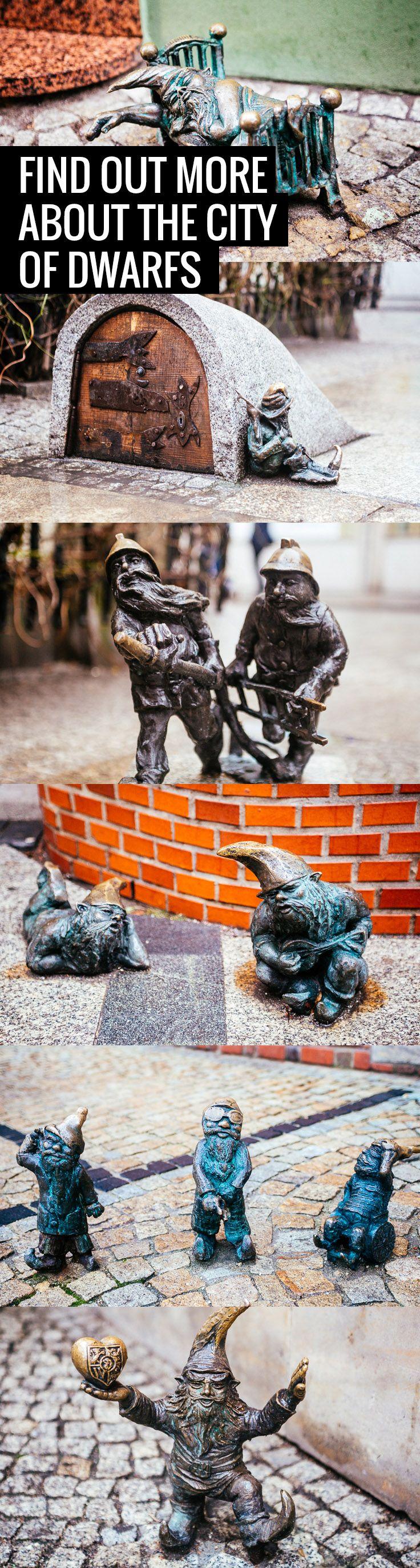 Wrocław is the Polish city of little tiny dwarfs. Do you know why?
