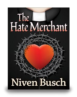 Along the streets of San Francisco walks a pitchman so extraordinary that he can sell anything. When he and the Kinderwall Sunshine Mission cross paths unexpectedly, he discovers a new audience for his powers. In no time at all, he becomes the Radio Messiah and grows rich on selling hate under the guise of selling peace. Now in eBook $7.99 http://www.enetpress.com/books/The_Hate_Merchant.html