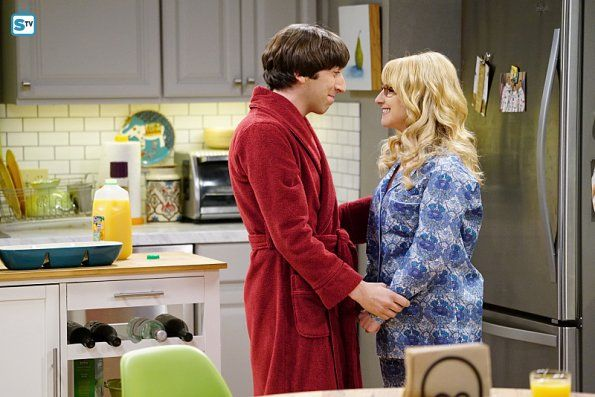 """The Big Bang Theory 9×16, """"The Positive Negative Reaction"""""""