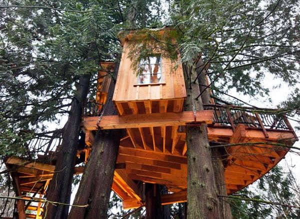 Sometimes as you grow up, the things you loved as a child lose a little bit of that spark and are a little less magical. But not so with tree houses. Tree houses only get cooler. The only thing cooler than having a domicile all to yourself is having it up in a tree. The tree houses on this list are...